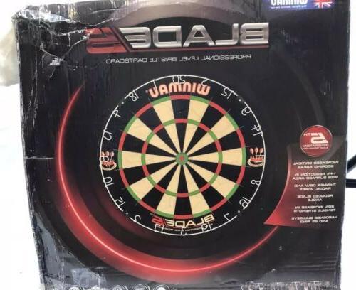 nib blade 5 professional level bristle dartboard
