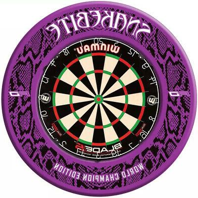 PETER WRIGHT SNAKEBITE CHAMPION EDITION DARTBOARD BY RED