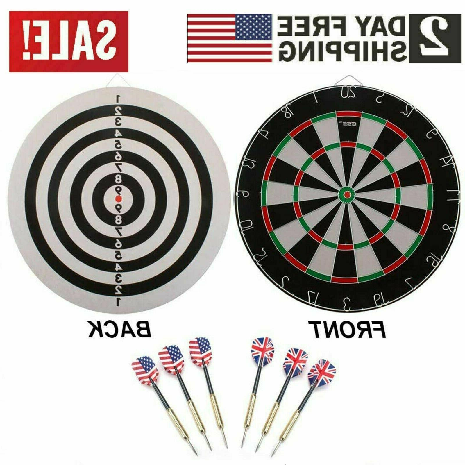 professional regulation size bristle dart board
