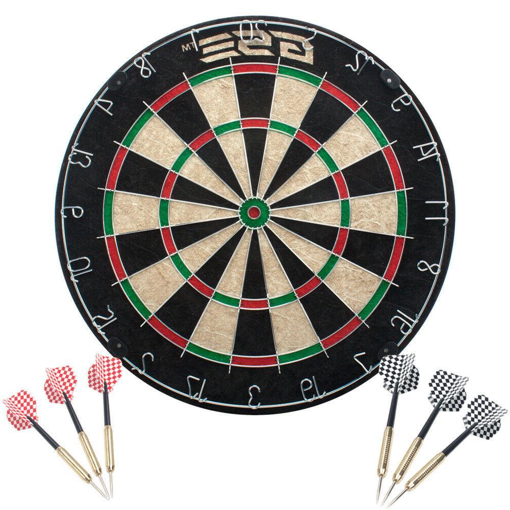 professional regulation size dart board game set