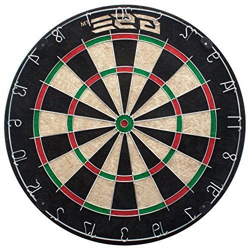 Expert Regulation Dartboard with 6 Steel Darts