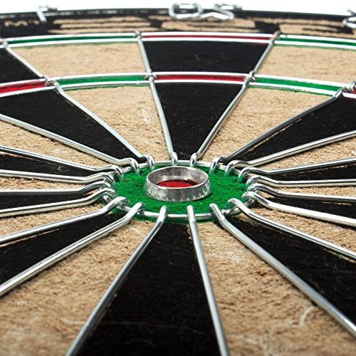 GSE Games & Expert Dartboard with Darts
