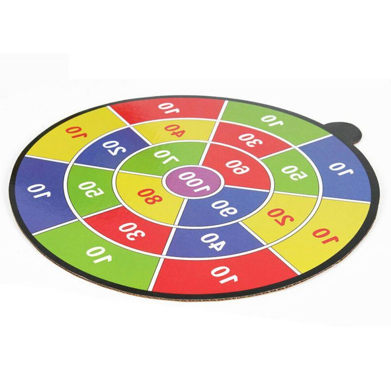 Shooting Games Kids Safe Target Board Foam Darts Sucked Type