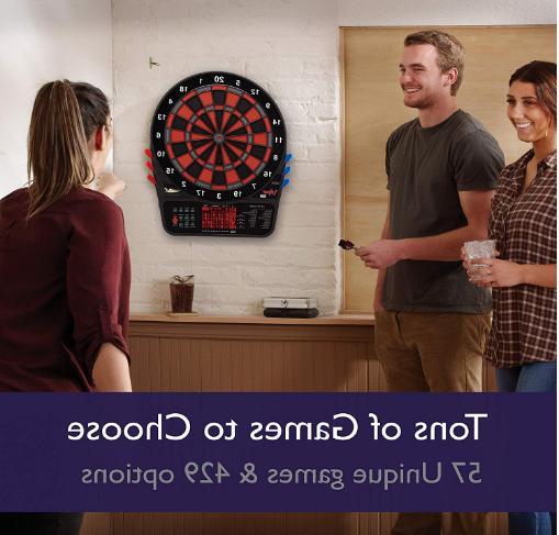 Soft Tip Board Fat Darts Display
