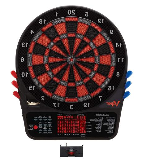 Soft Tip Board Darts Display