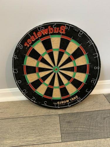 vintage budweiser dart board