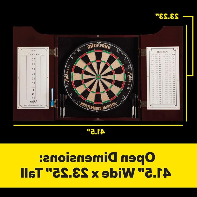 Viper Hudson Sisal/Bristle Tip Dartboard