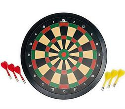Narwhal Magnetic Dartboard Set 15.5 Inch Dart Board with 6 M