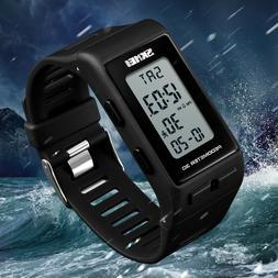 SKMEI Men Women Sports Digital Wrist Watch LED Waterproof 3D