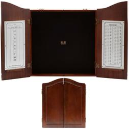 Solid Wood Dart Board Cabinet ONLY. Dartboard Cabinet with S