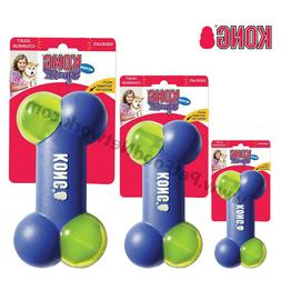 Kong Squeezz Action Bone Dog Toy Blue    Free Shipping