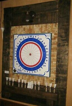 WIDDY RUSTIC DART BACKBOARD - RECLAIMED WOOD - THE GAME ROOM