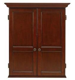 HJ Scott Windsor Dartboard Dart Board Cabinet - Old World Ma