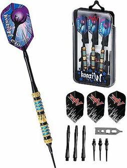 Wizard Soft Tip Dart Set Blue, Brass, 18 grams 20-4002 darts